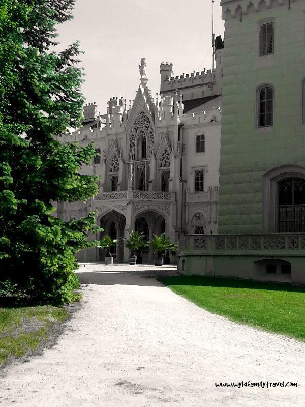 Lednice Castle Complex UNESCO site Czech Republic