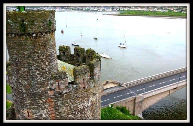Conwy Castle Wales Untited Kingdom