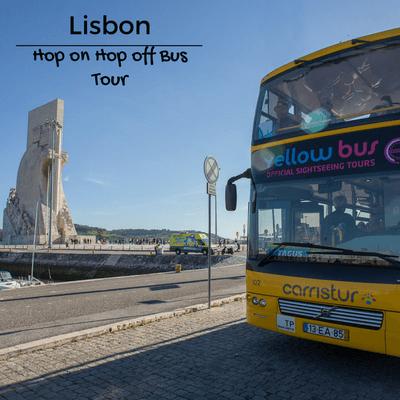 Lisbon yellow bus tour
