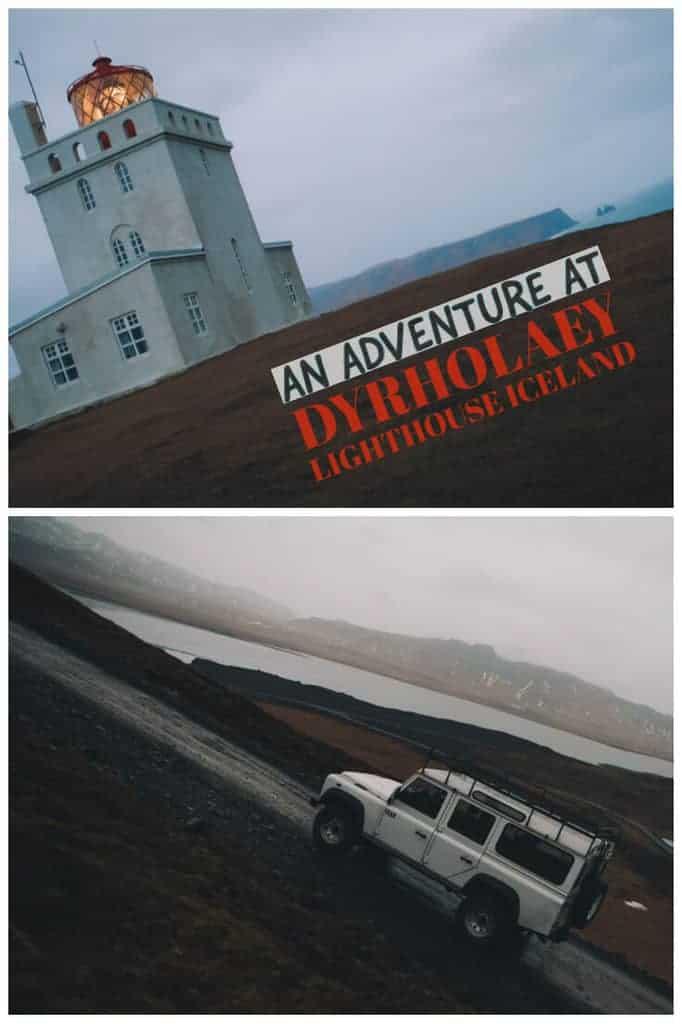 Dyrholaey Lighthouse South Coast Iceland