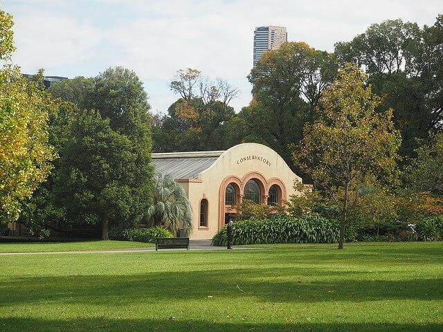The Conservatory Fitzroy Garden Melbourne