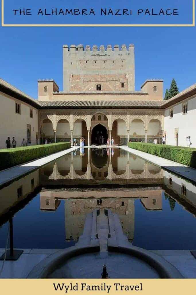 Exploring the Alhambra in Granada