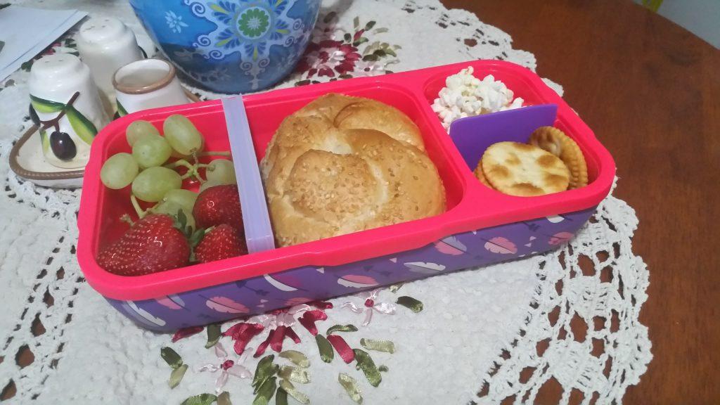 Marley's lunchbox ready to got o school