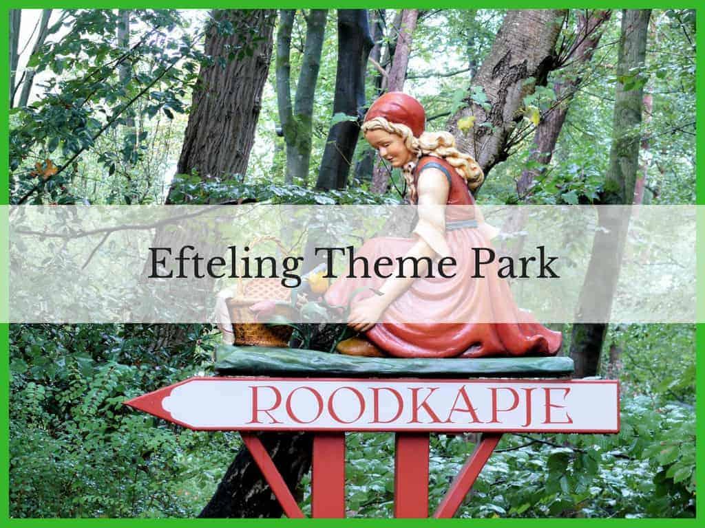 Efteling Theme Park sign