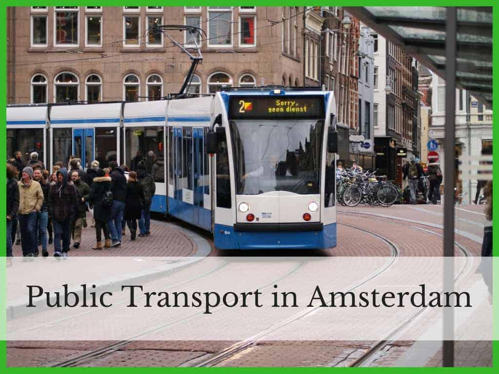 An Amsterdam Tram