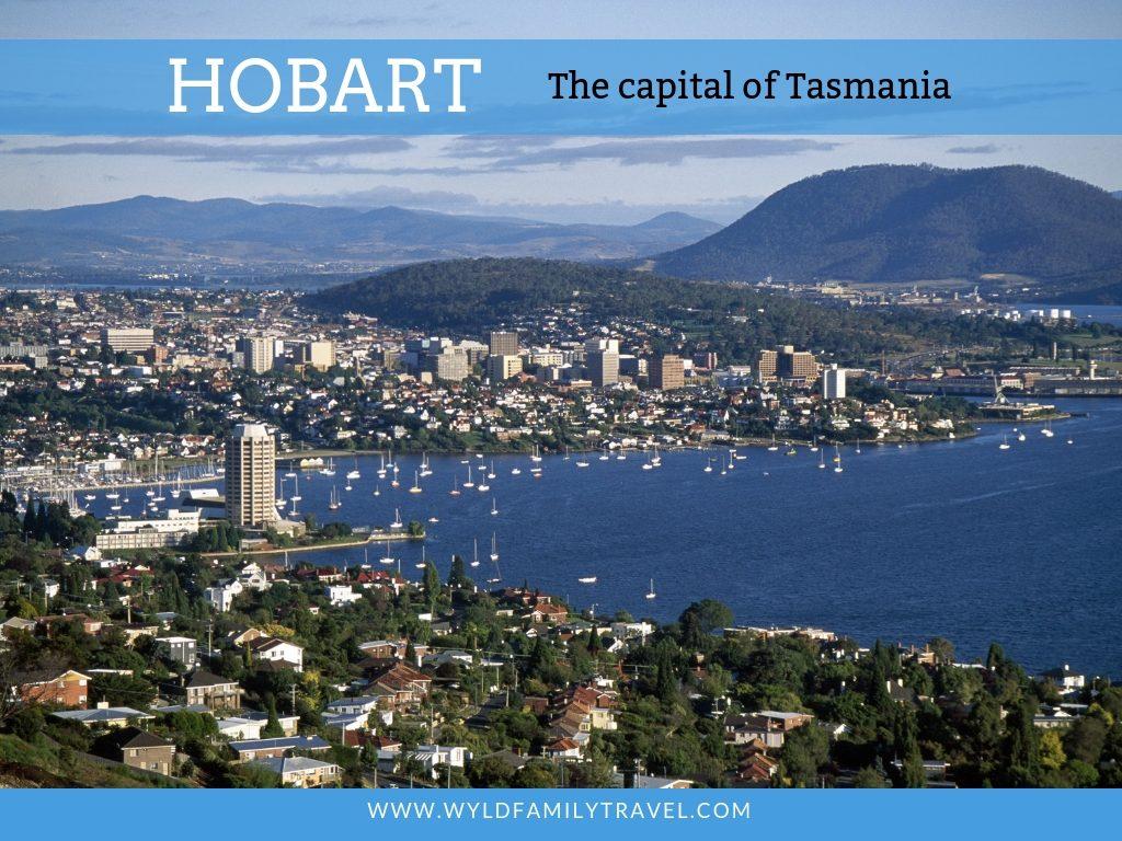 Cityscape of Hobart Tasmania