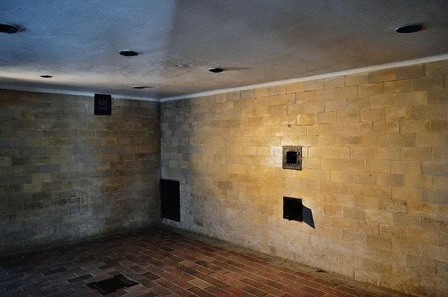 gas chamber at Dachau