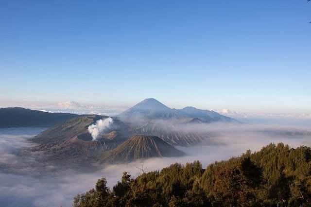 Sunbrise over Mount Bromo Indonesia