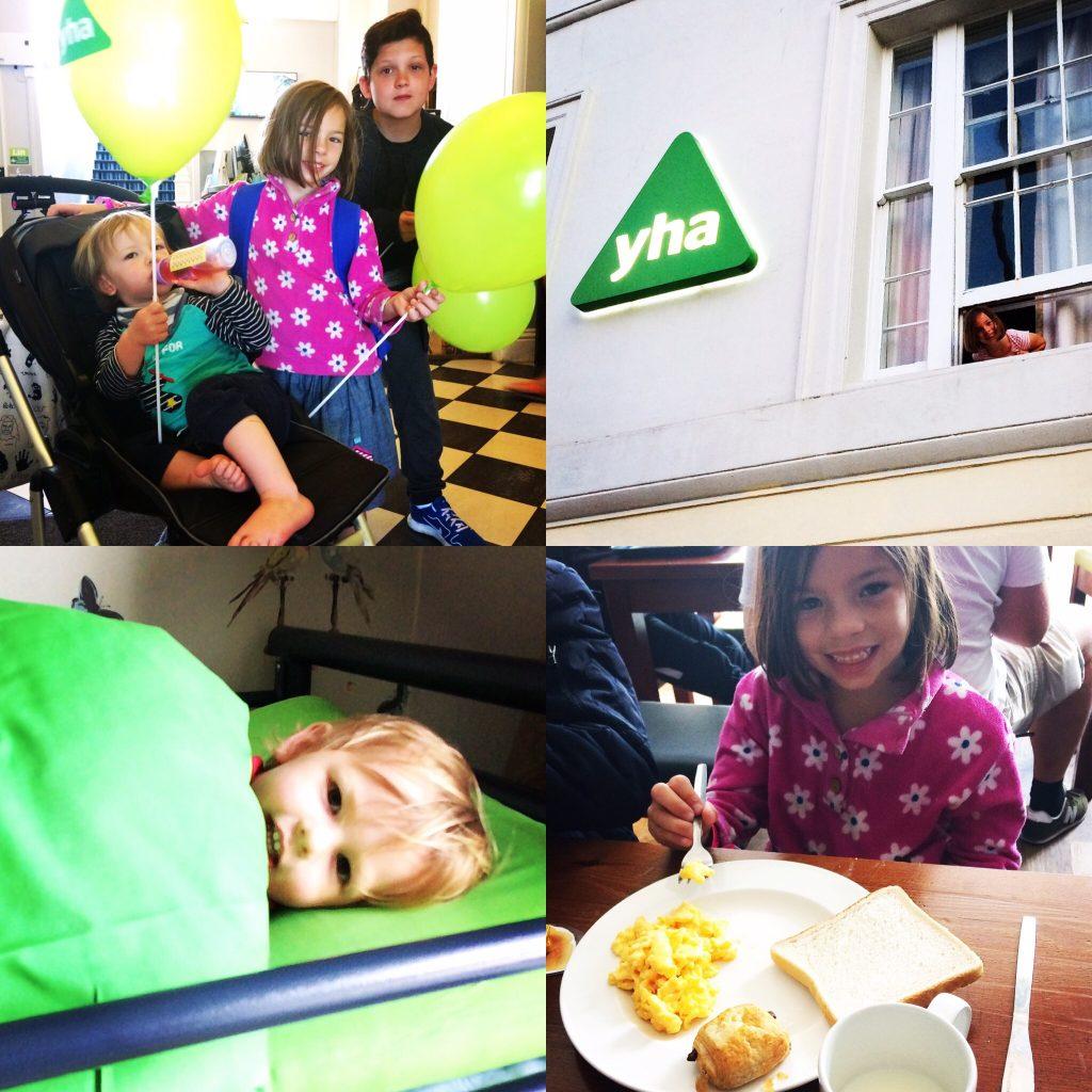 kids having fun at Brighton YHA