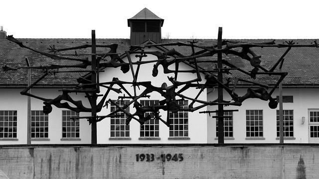 The main building at Dachau