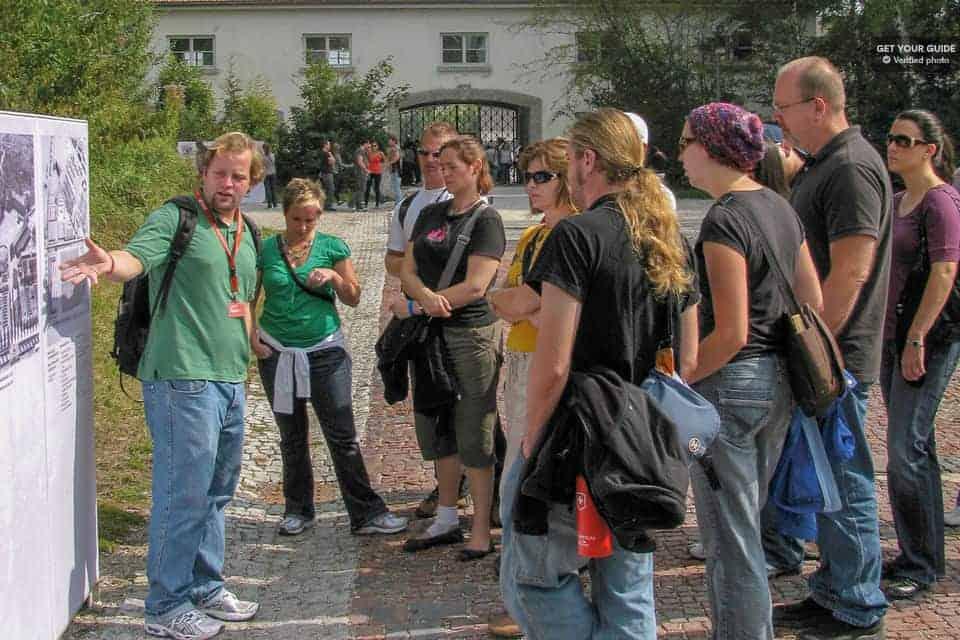 A guided tour to Dachau