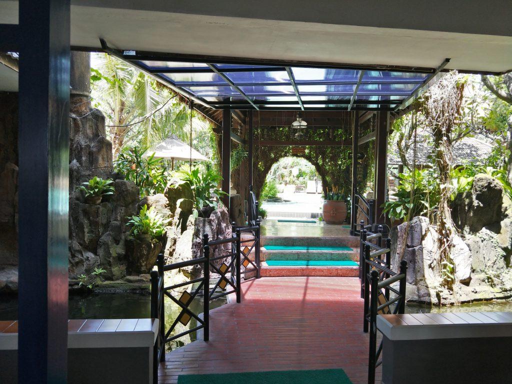 entry to the Yogja village Inn