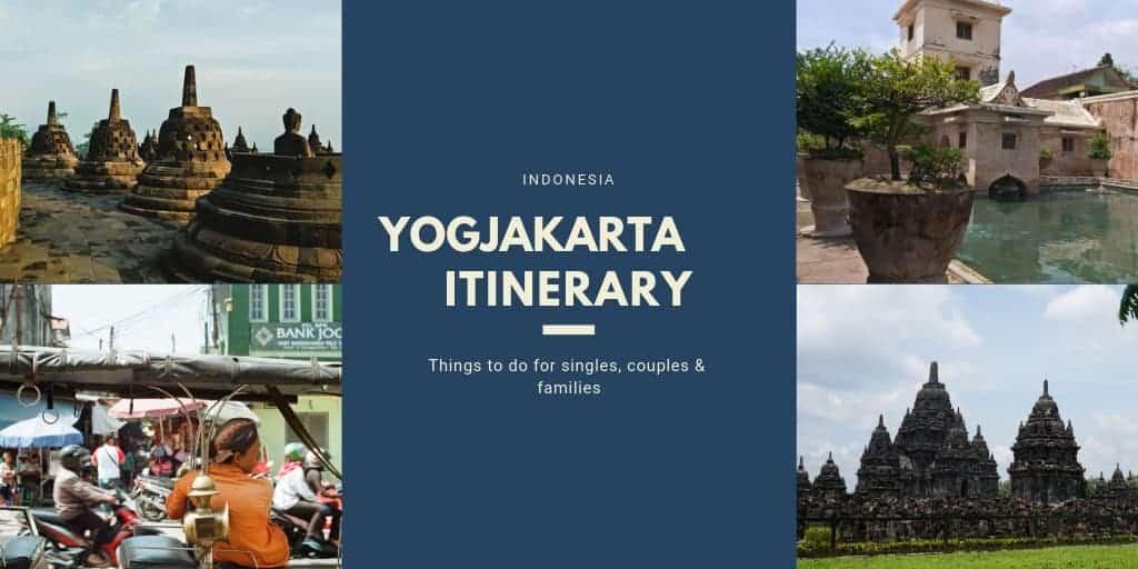 Yogyakarta is best known for Borobudur and Prambanan temples