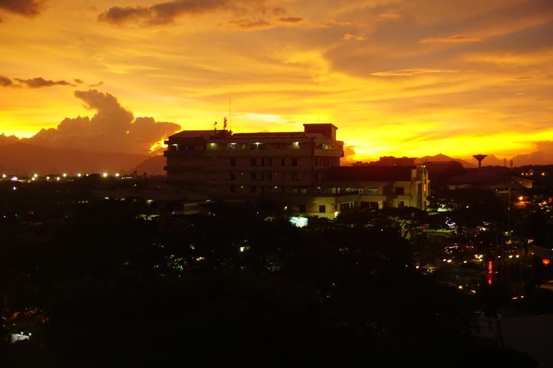 Sunset in Bandung