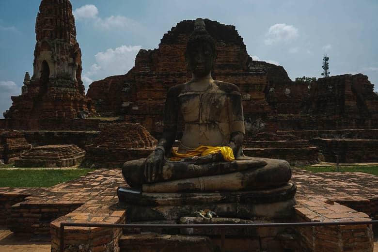 Ruins of temples Ayutthaya