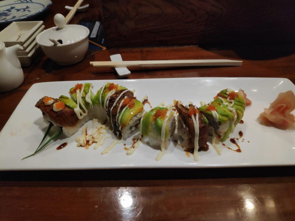 sushi at Mercure ancol