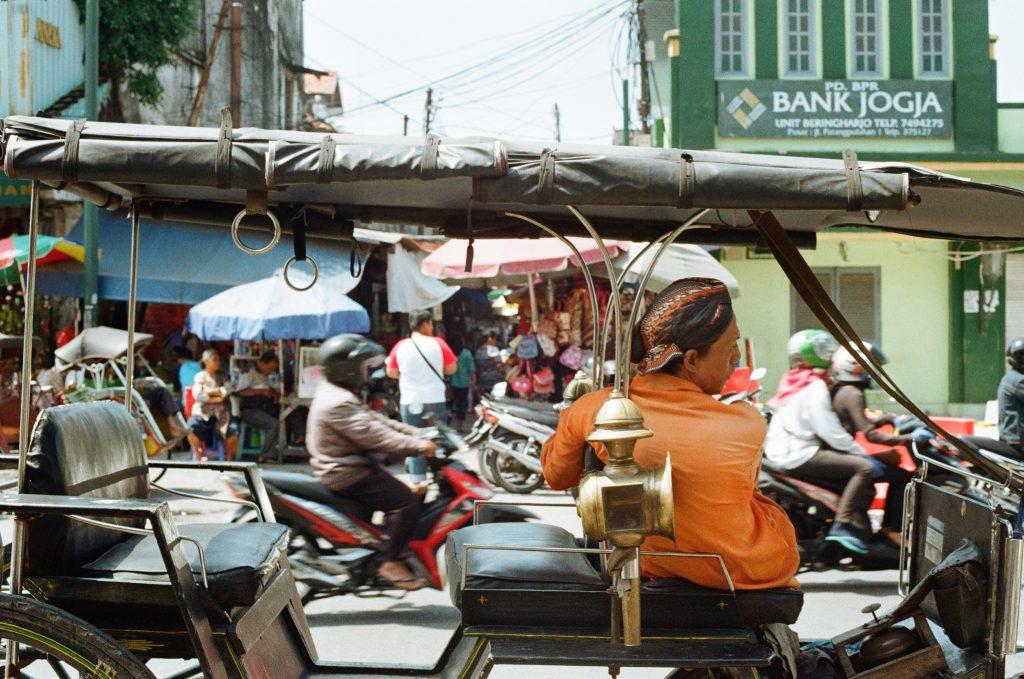 Street life in Langkawi.