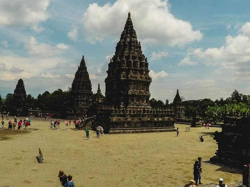 Overview of Pranbanan site