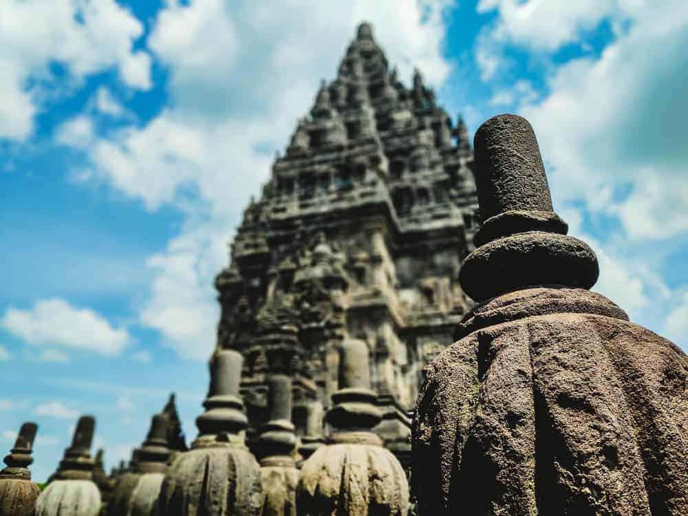 Pranbanan temple site Yogyakatrta