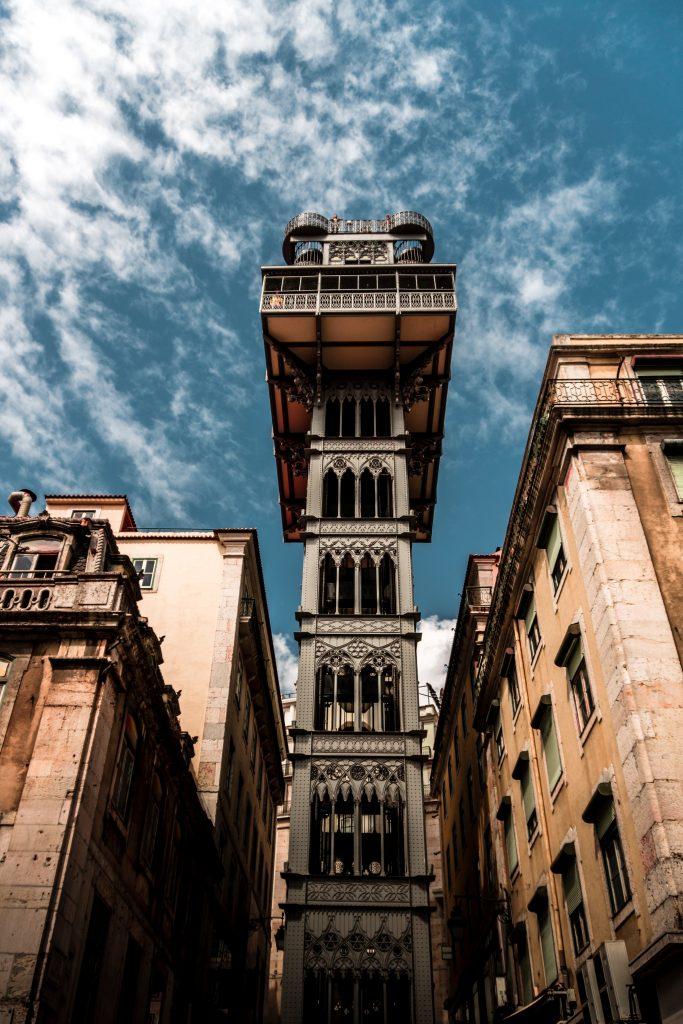 Santa Justa lift Lisbon