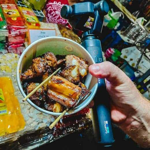 Pork ribs Krabi market