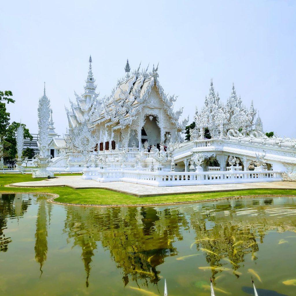 The white palce in Chinag Rai
