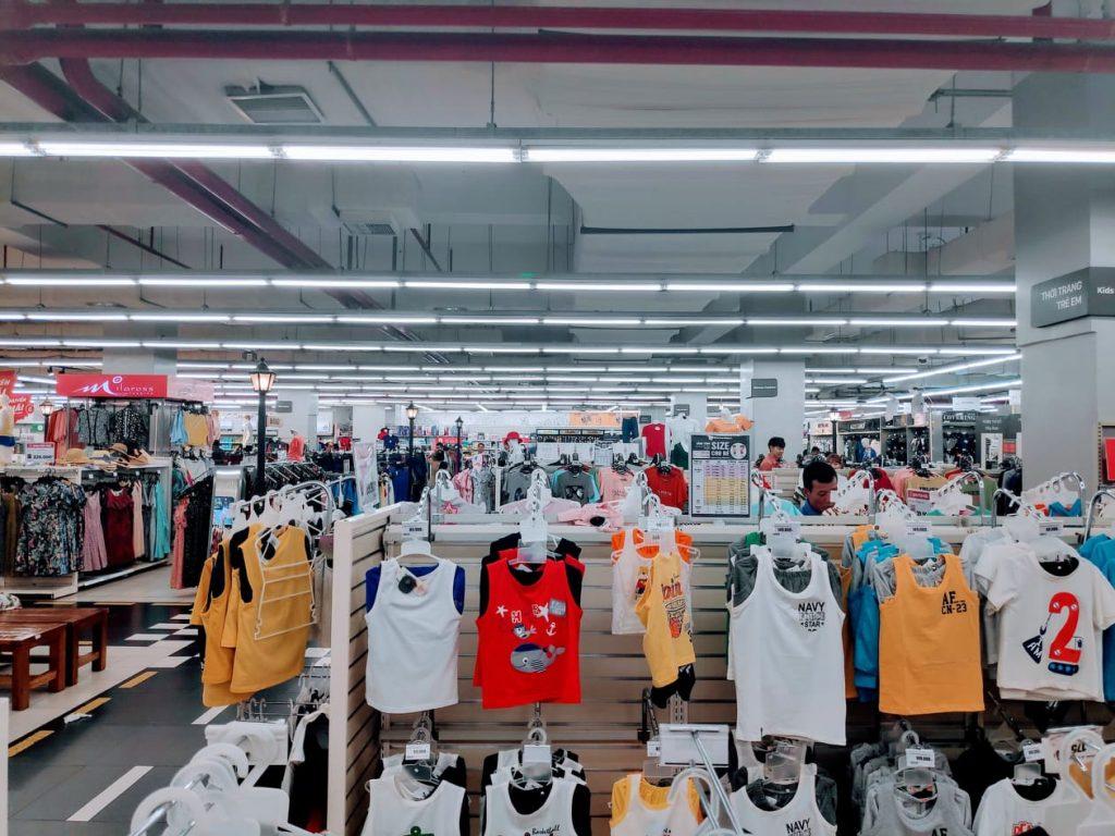 Clothes at Da nang shopping Centre