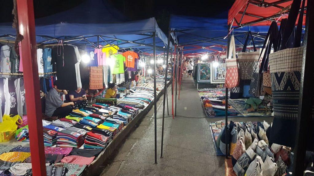 Luang Prababng night market