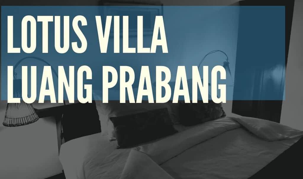 Lotus Villa Boutique Hotel Luang Prabang