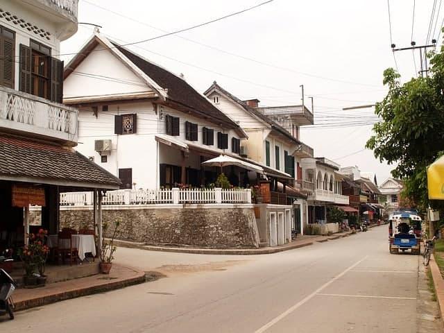 streets of Luang Prababng