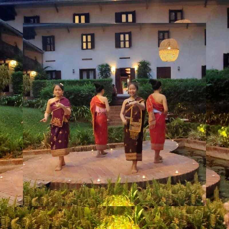 cultural dinner Luang Prabang