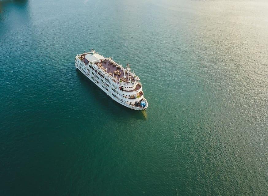 Bhaya Cruise from above