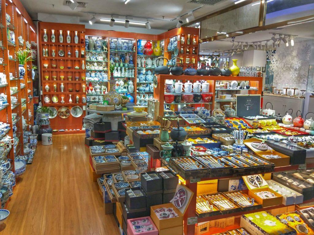 shop in Pearl Market Beijing