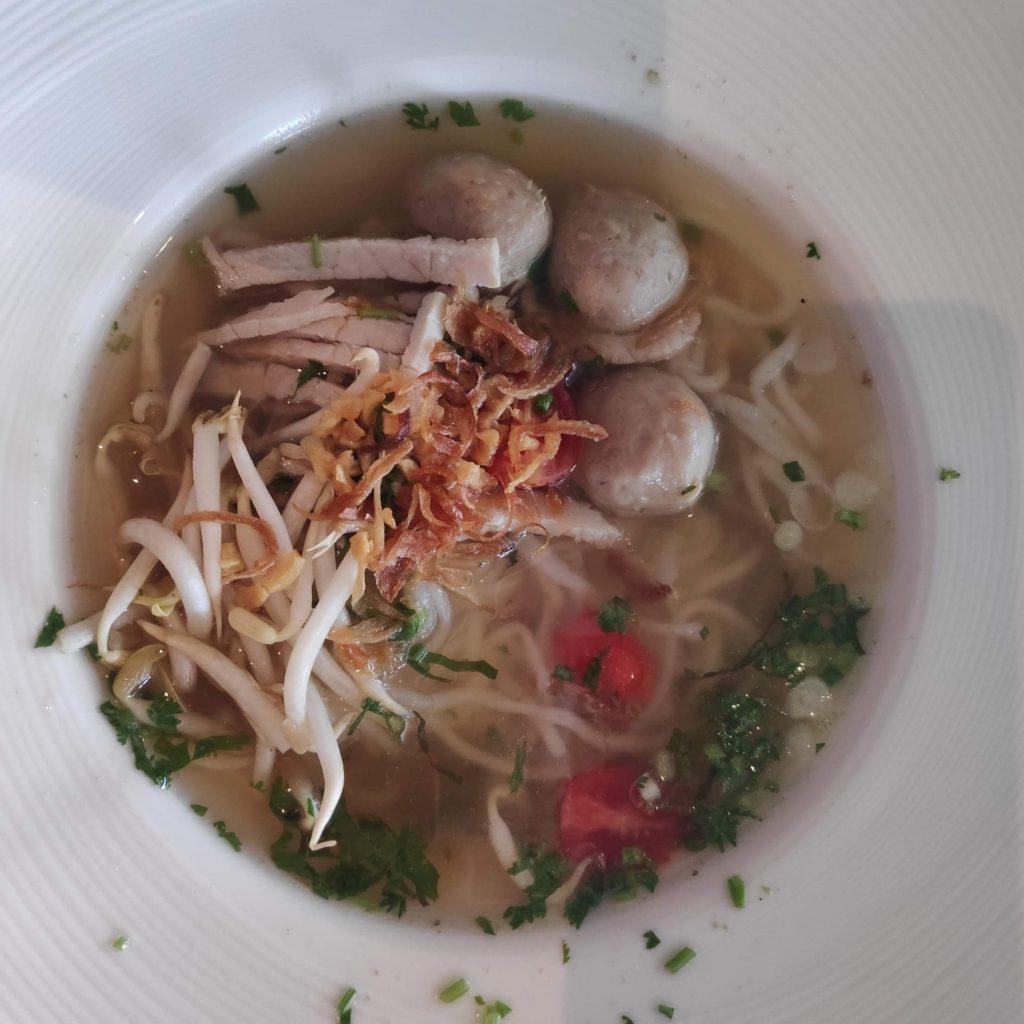 food at La Seine