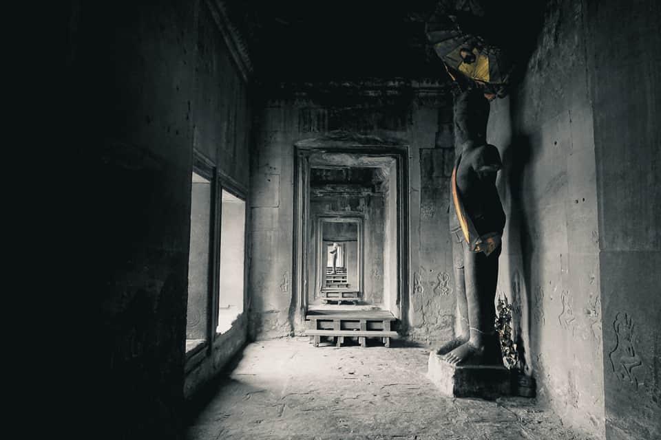 buddism inside angor siem reap