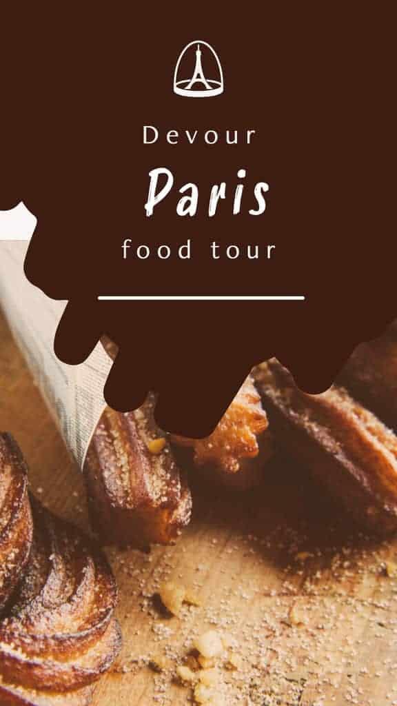 Devouring Paris food tour with Devour Tours