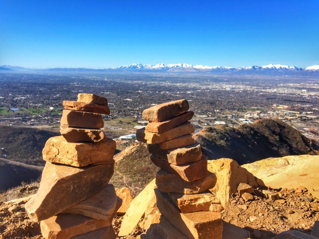 Hiking near Salt Lake City