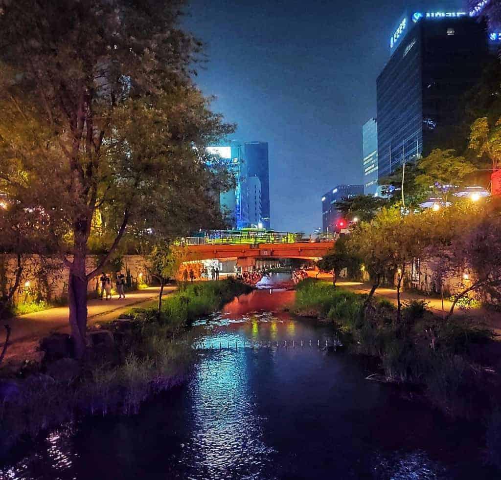 river in Seoul