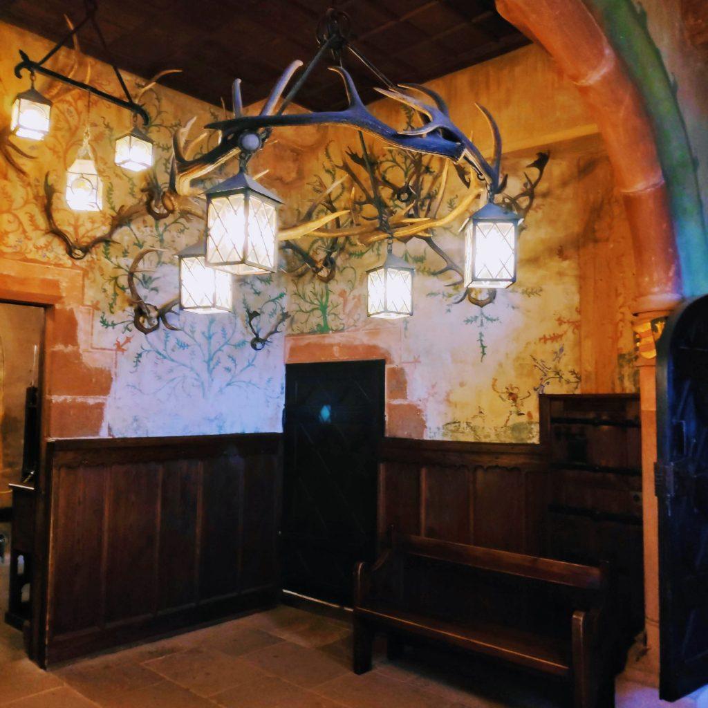 Inside Koenigsbourg Chateau