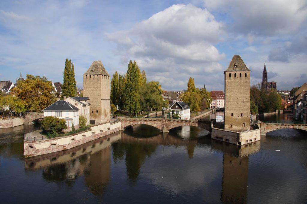 Old city part of Strasbourg