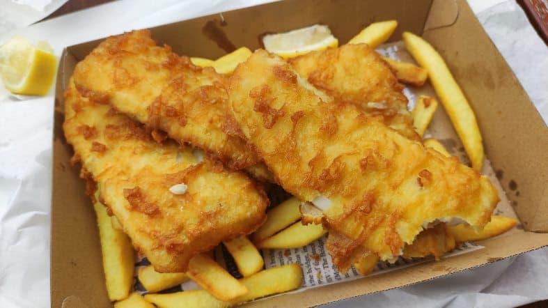 fish n chips in Merimbula