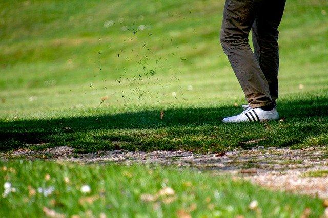playing golf at Merimbula
