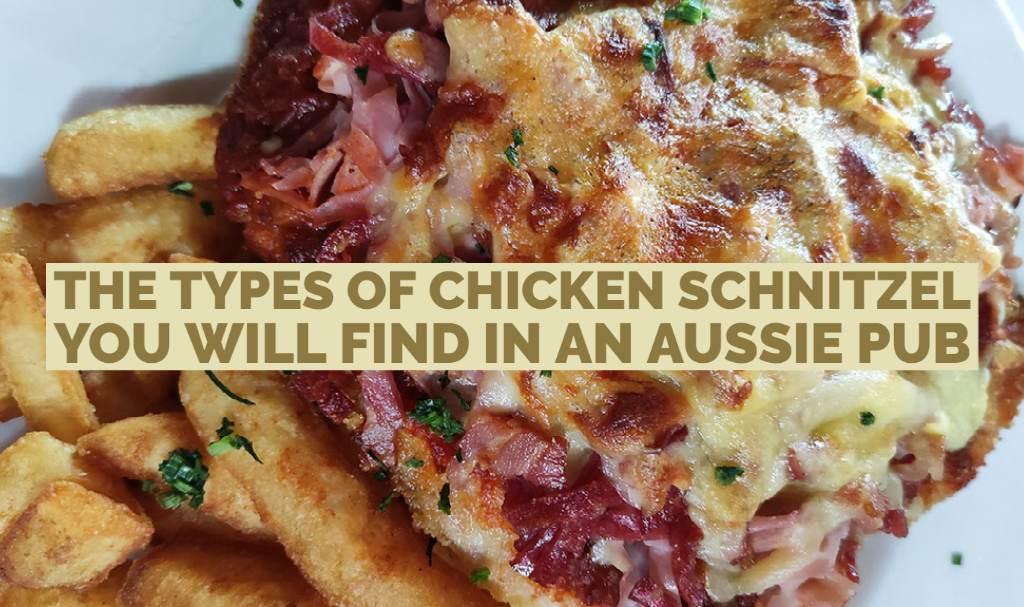 chicken schnitzel topping in australia
